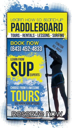 BOOK YOUR CHARLESTON STAND-UP PADDLE BOARDING TOUR