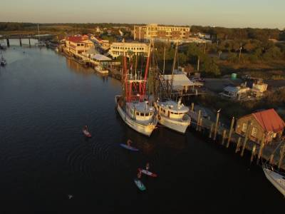 Visiting Shem Creek? These are Five Must-Dos! Paddleboard Co