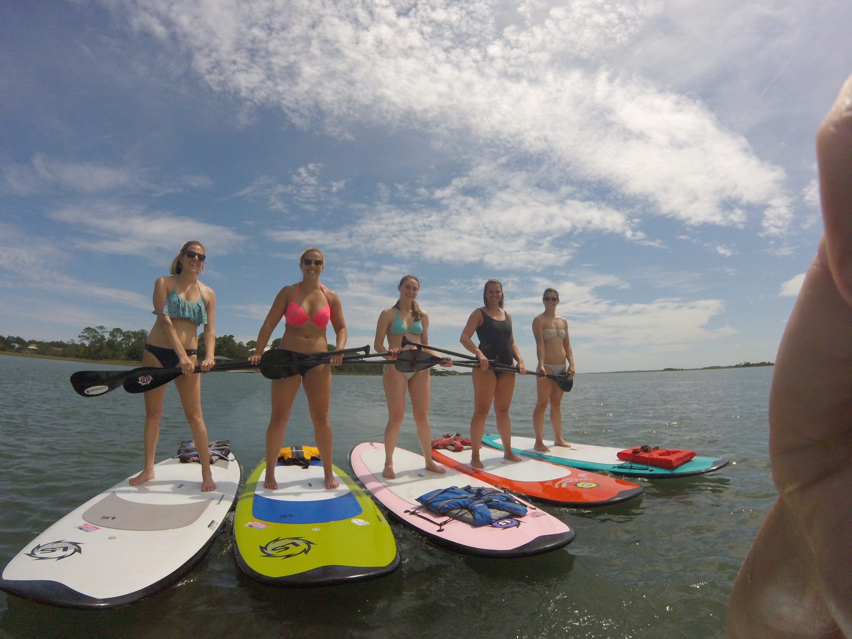Charleston Paddleboarding