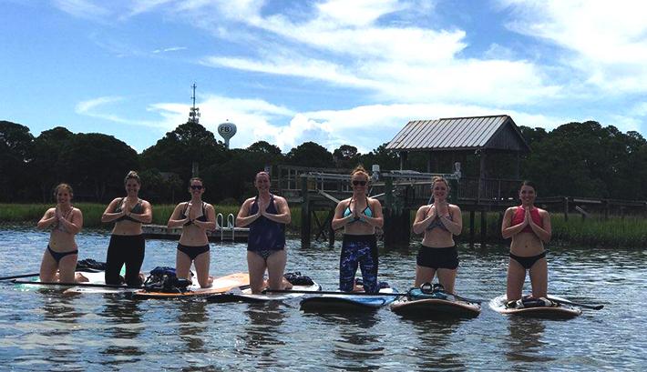 Sup Yoga Charleston Paddleboard Company Stand Up Paddleboarding